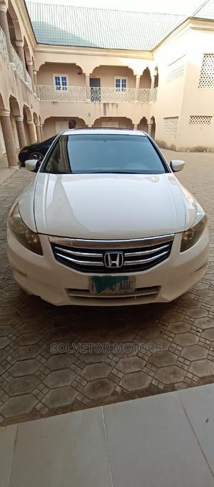Honda Accord 2008 3.5 EX Automatic White | Cars for sale in Jigawa State, Dutse-Jigawa