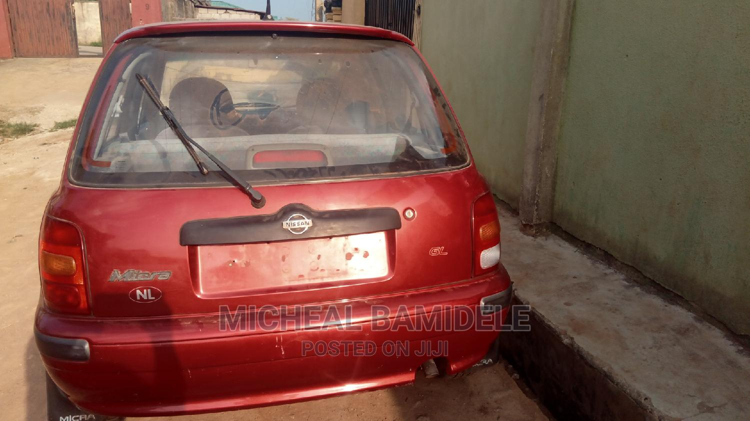 Nissan Micra 2000 Red | Cars for sale in Ojodu, Lagos State, Nigeria