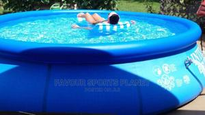 Brand New Intex 15ft Swimming Pool With Ladder,Filter, Cover | Sports Equipment for sale in Rivers State, Port-Harcourt