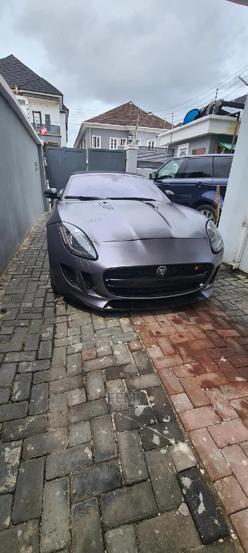 Jaguar F-Type 2015 Silver