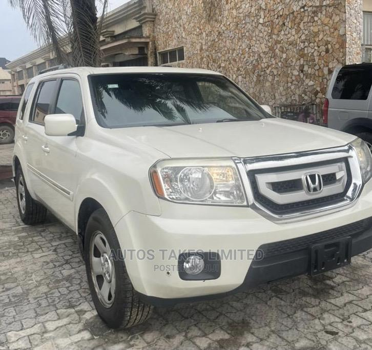 Honda Pilot 2011 White   Cars for sale in Ajah, Lagos State, Nigeria