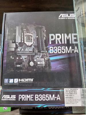 Asus Prime B365m-A Support 9th/8th Gen Intel Processor   Computer Hardware for sale in Lagos State, Ikeja