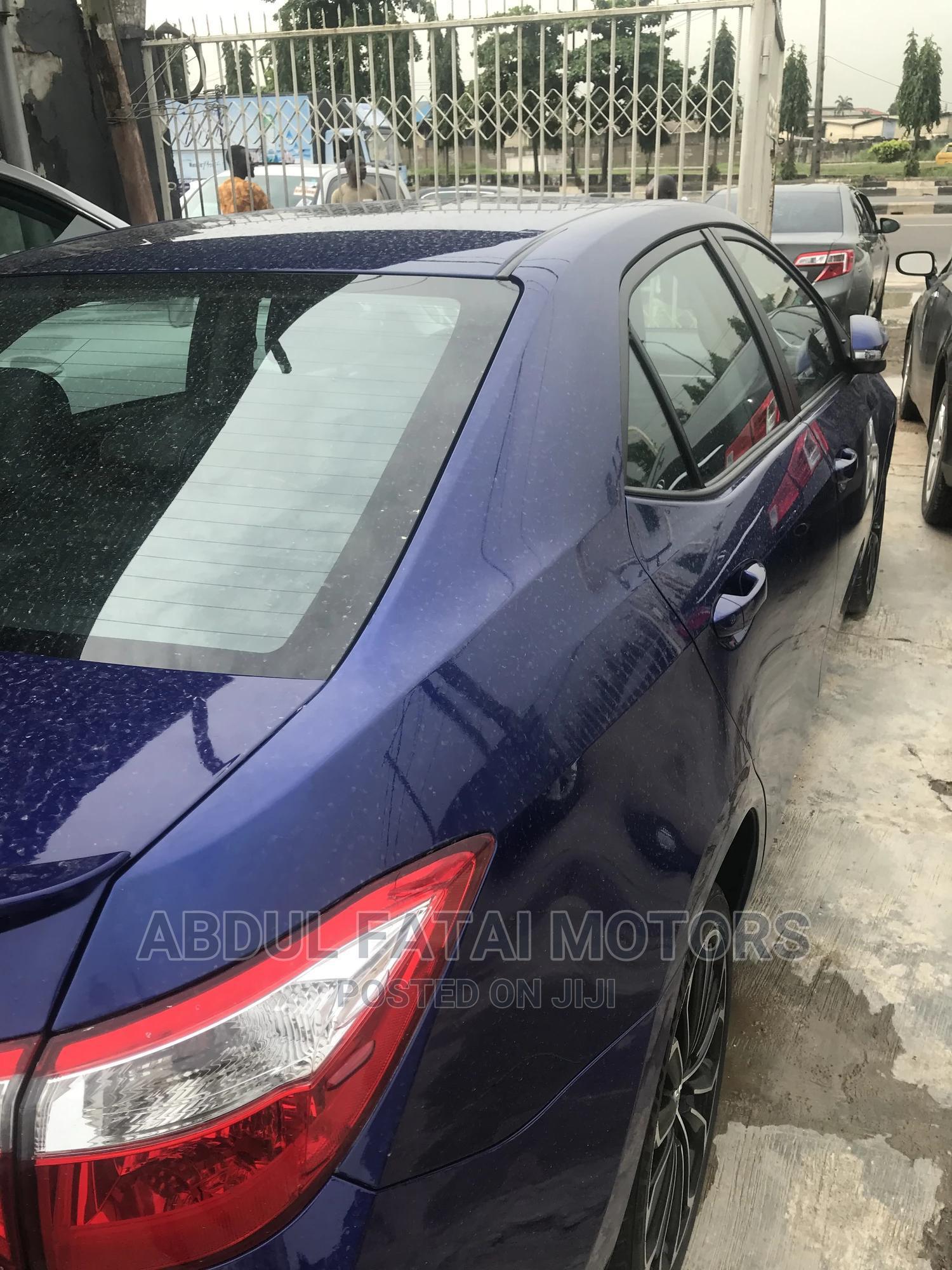 Toyota Corolla 2014 Blue | Cars for sale in Ikeja, Lagos State, Nigeria