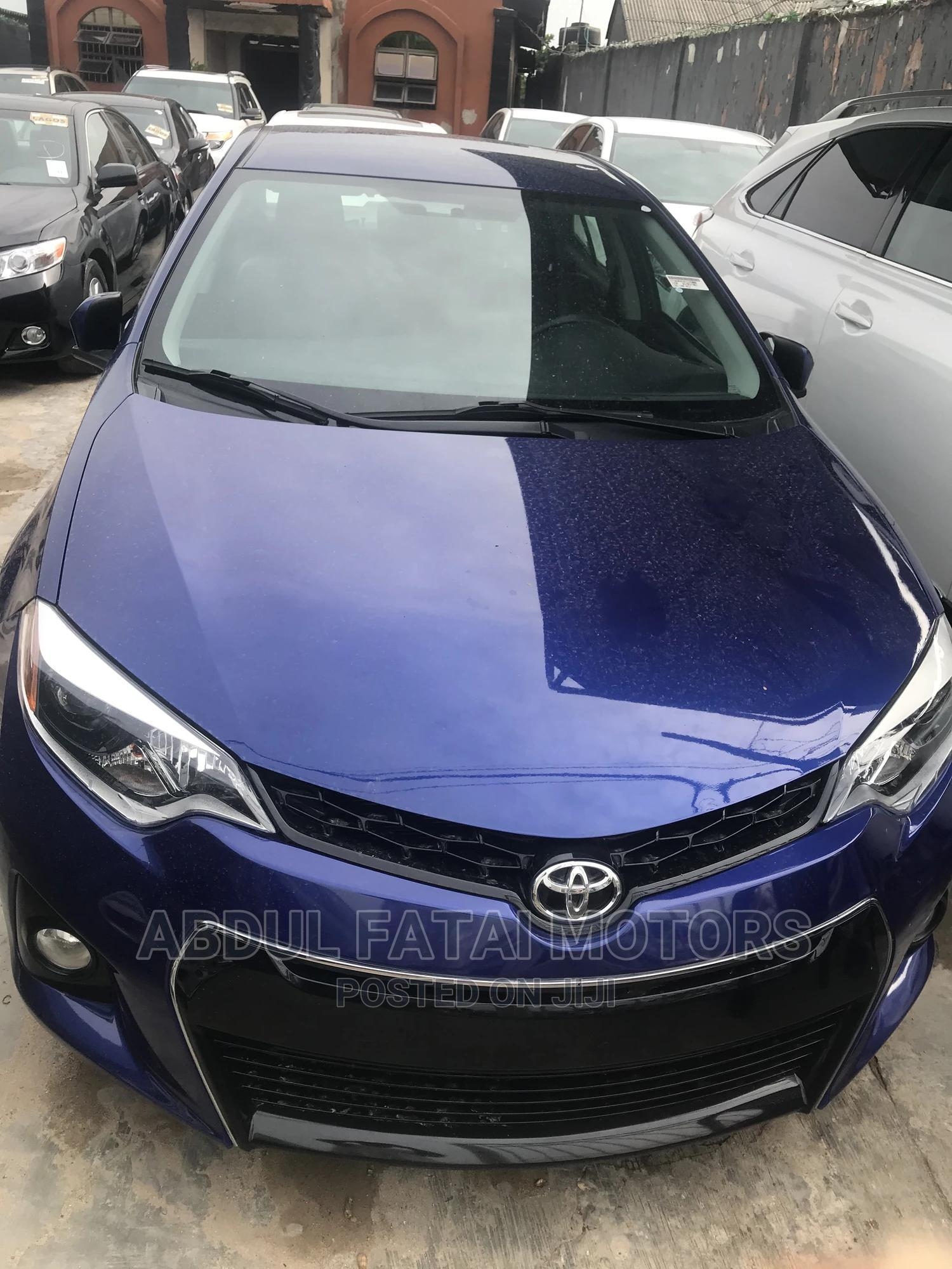 Toyota Corolla 2014 Blue