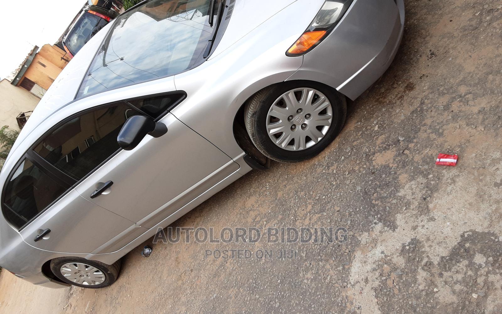 Archive: Honda Civic 2007 1.8 Sedan EX Automatic Silver