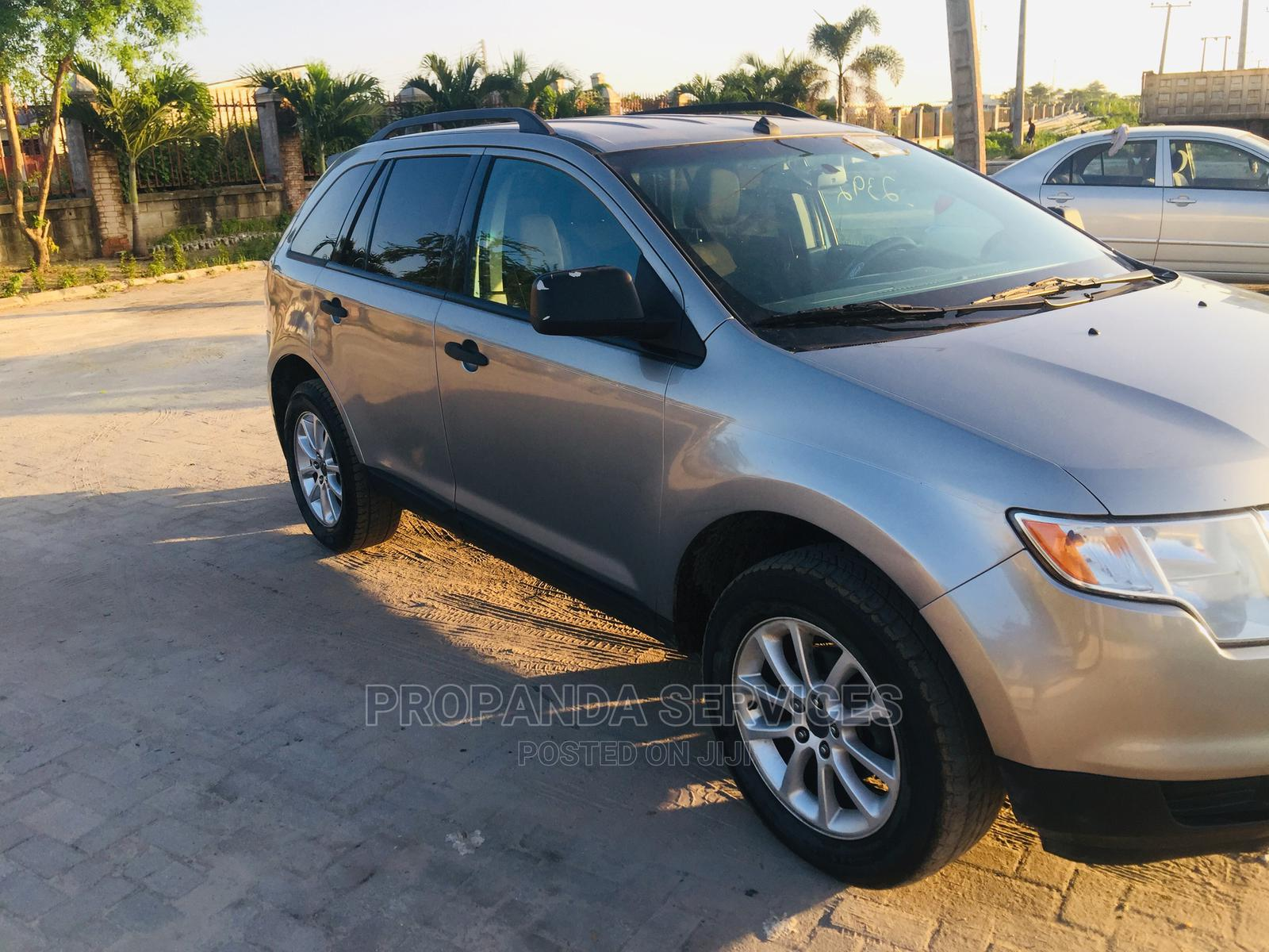 Ford Edge 2008 SE 4dr FWD (3.5L 6cyl 6A) Gray   Cars for sale in Ajah, Lagos State, Nigeria