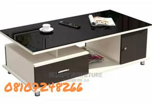 Modern Wooden/Glass Center Table | Furniture for sale in Lagos State, Ikeja