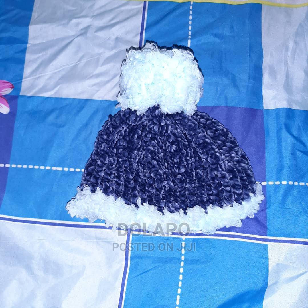 Archive: Blue Velvet Fur Beanie (2 - 5 Years)