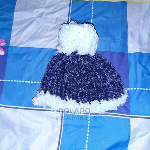 Blue Velvet Fur Beanie (2 - 5 Years) | Children's Clothing for sale in Oyo State, Ibadan
