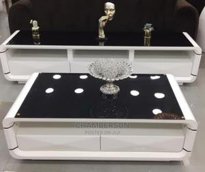 A Beautiful Black Center Table   Furniture for sale in Lagos State, Ojo