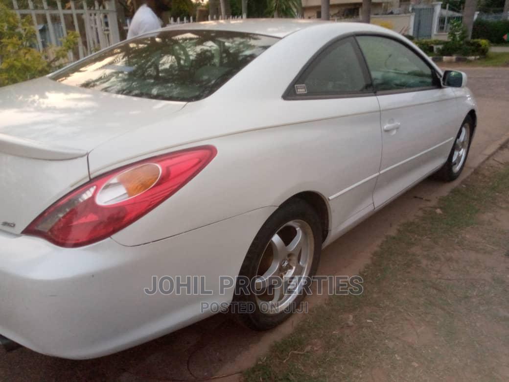Toyota Solara 2005 White   Cars for sale in Asokoro, Abuja (FCT) State, Nigeria