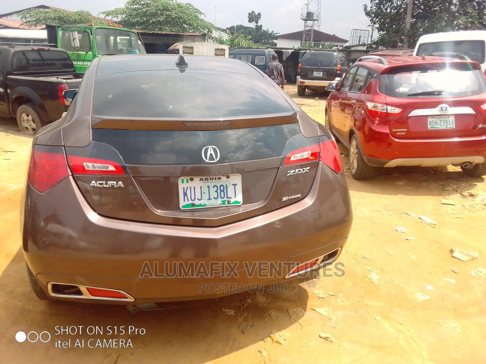 Acura ZDX 2011 Base AWD Brown   Cars for sale in Port-Harcourt, Rivers State, Nigeria
