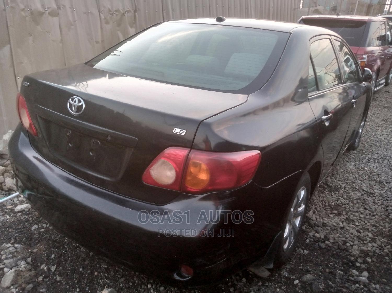 Toyota Corolla 2008 Black