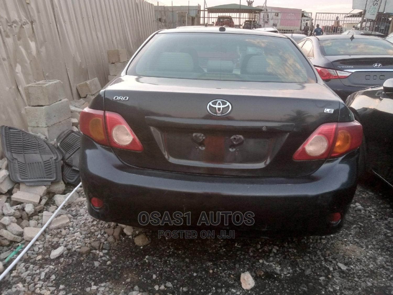 Toyota Corolla 2008 Black   Cars for sale in Ojodu, Lagos State, Nigeria