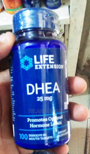 Life Extension, DHEA, 25 Mg, 100 Cap | Vitamins & Supplements for sale in Lagos State, Ojo
