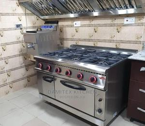 Industrial Cooker Stove With Kitchen Hood   Restaurant & Catering Equipment for sale in Lagos State, Ojo
