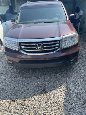 Honda Pilot 2009 Red | Cars for sale in Lagos State, Yaba