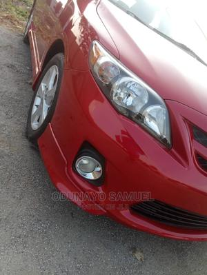 Toyota Corolla 2013 Red   Cars for sale in Lagos State, Ojodu