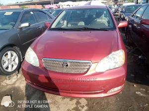 Toyota Corolla 2007 LE Red   Cars for sale in Lagos State, Apapa