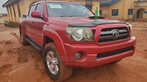 Toyota Tacoma 2009 Double Cab V6 Automatic Red   Cars for sale in Ogun State, Ado-Odo/Ota
