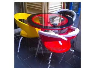 Quality Unique Dining With Three Chair   Furniture for sale in Lagos State, Ikeja