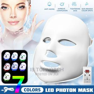7 Color Facial Skin Care Mask Light Treatment Acne Photon   Skin Care for sale in Lagos State, Ikeja