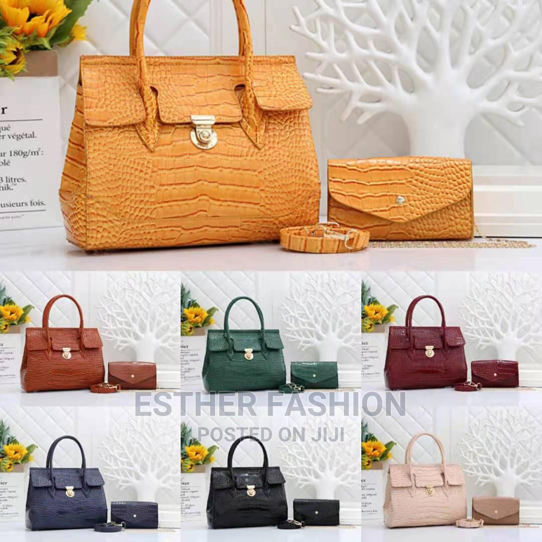 Female Quality Leather Handbag | Bags for sale in Ikeja, Lagos State, Nigeria