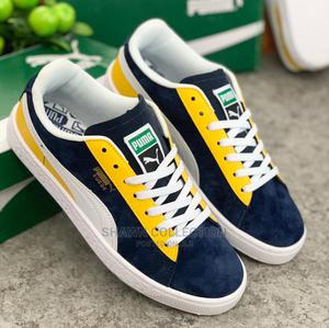 Puma Classic Suede Block Sneakers | Shoes for sale in Lagos State, Lagos Island (Eko)