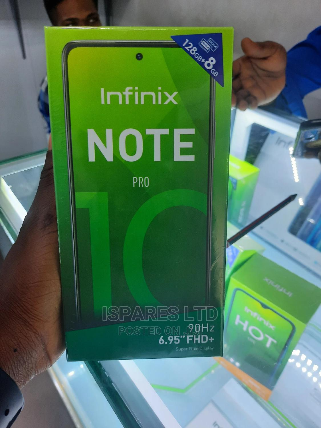 New Infinix Note 10 Pro 128 GB Black | Mobile Phones for sale in Port-Harcourt, Rivers State, Nigeria