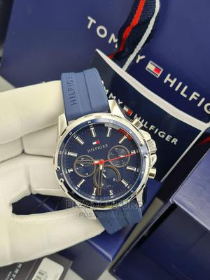 High Quslity TOMMY HILFIGER Rubber Watch for Men   Watches for sale in Lagos State, Magodo