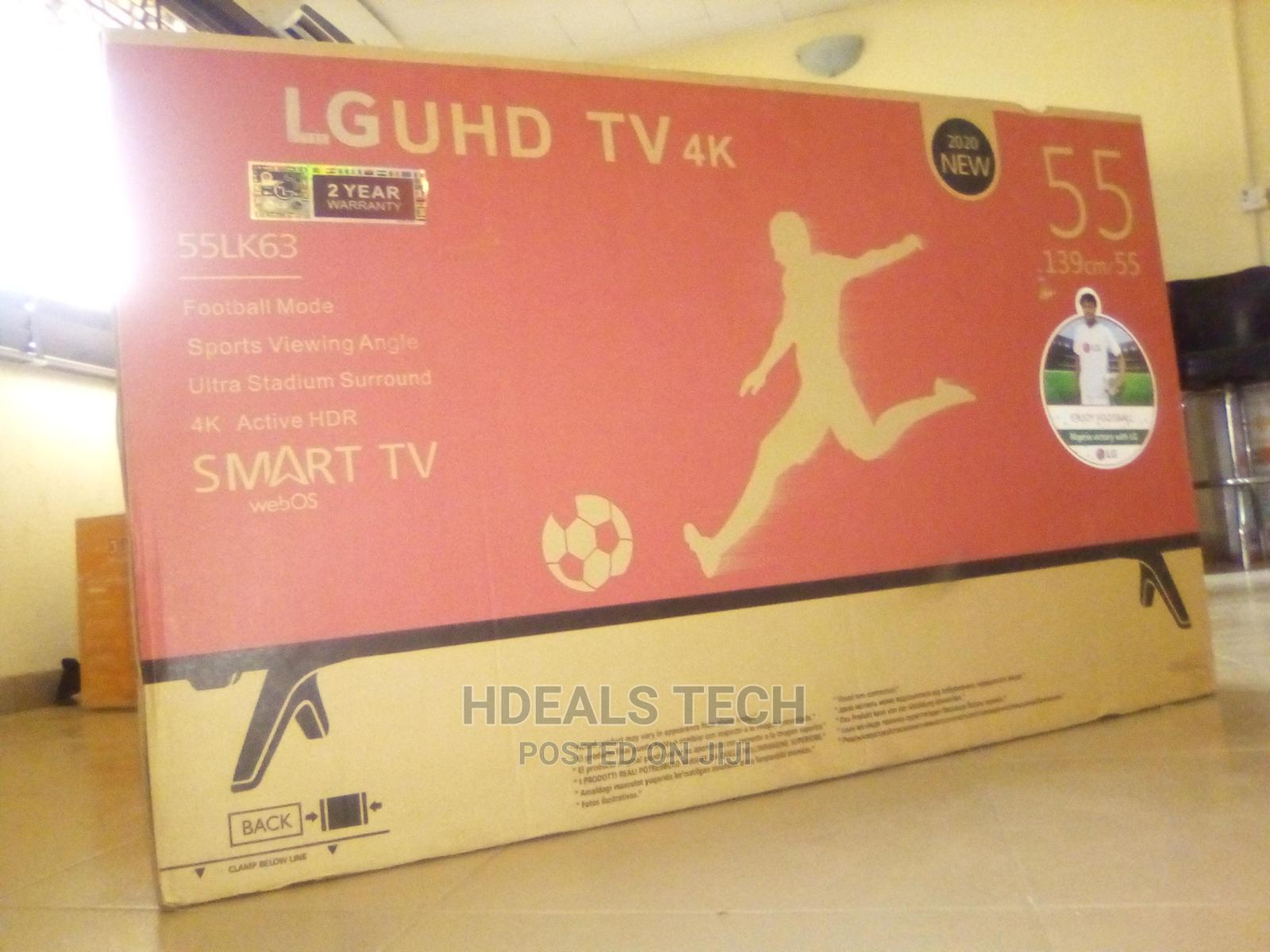 LG 55inches Smart Internet TV With Android Features