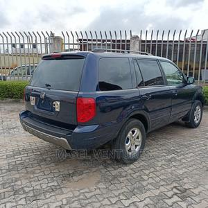 Honda Pilot 2004 EX 4x4 (3.5L 6cyl 5A) Blue | Cars for sale in Lagos State, Isolo