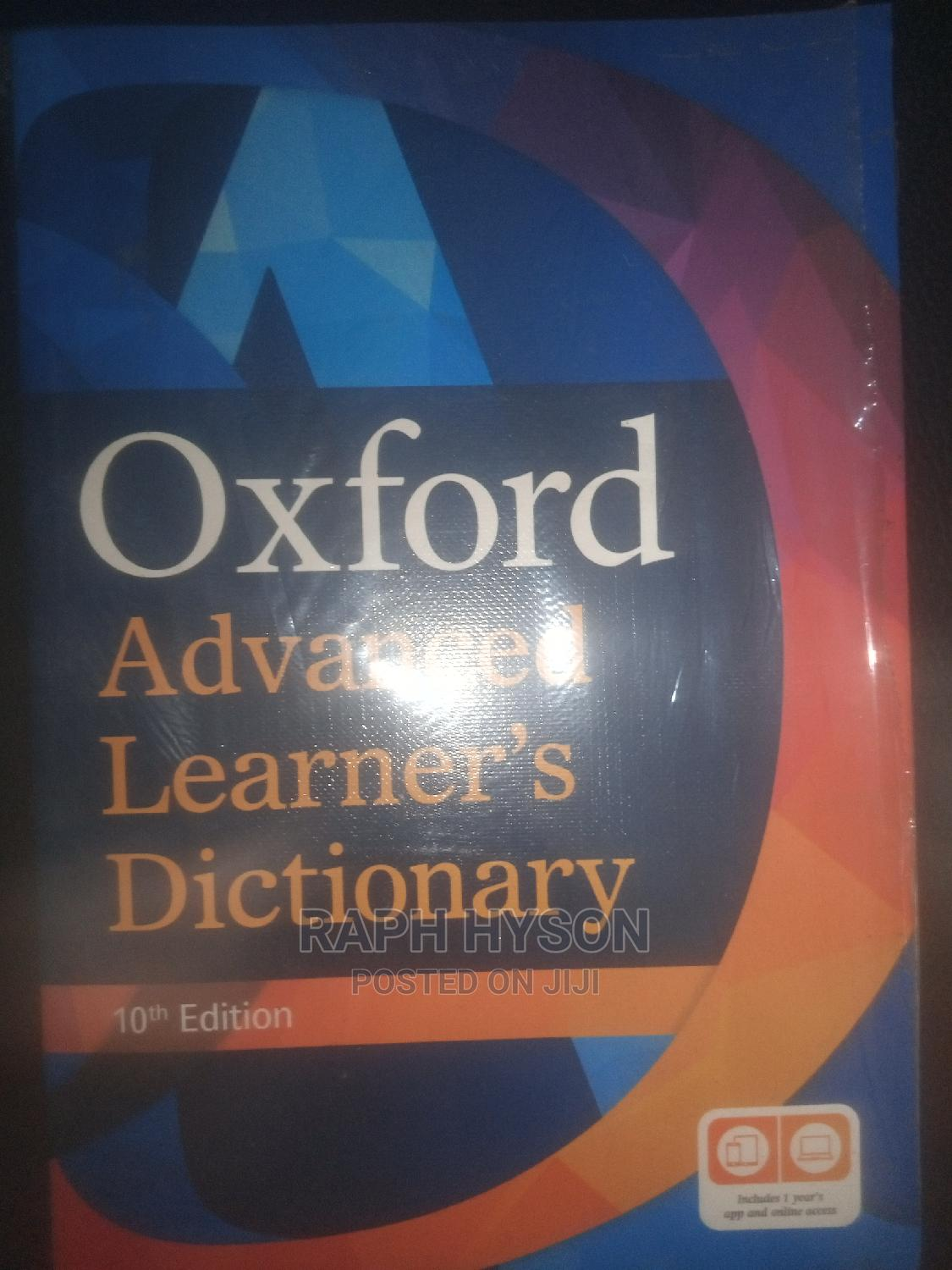 Archive: Oxford Advanced Learner's Dictionary 10th Edition.