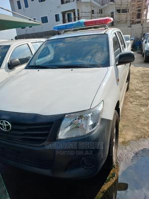 Toyota Hilux 2013 SR 4x4 White | Cars for sale in Lagos State, Maryland