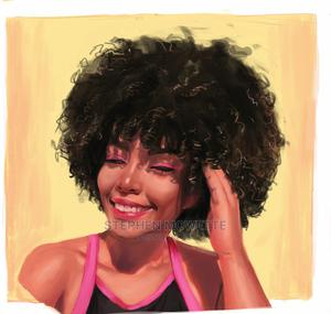 Portrait Painting (Digital) | Computer & IT Services for sale in Lagos State, Lekki