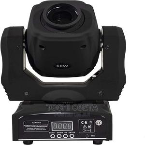 Moving Head Light LED Spot 60W Lighting 8 Colors And 8 Gobos   Stage Lighting & Effects for sale in Lagos State, Ikeja