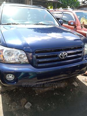 Toyota Highlander 2005 V6 Blue | Cars for sale in Lagos State, Apapa