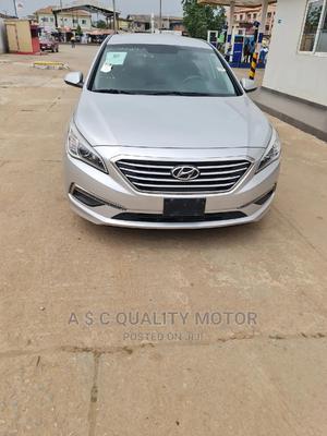 Hyundai Sonata 2015 Silver | Cars for sale in Lagos State, Ikeja