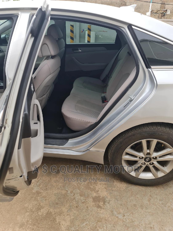 Hyundai Sonata 2015 Silver | Cars for sale in Ikeja, Lagos State, Nigeria