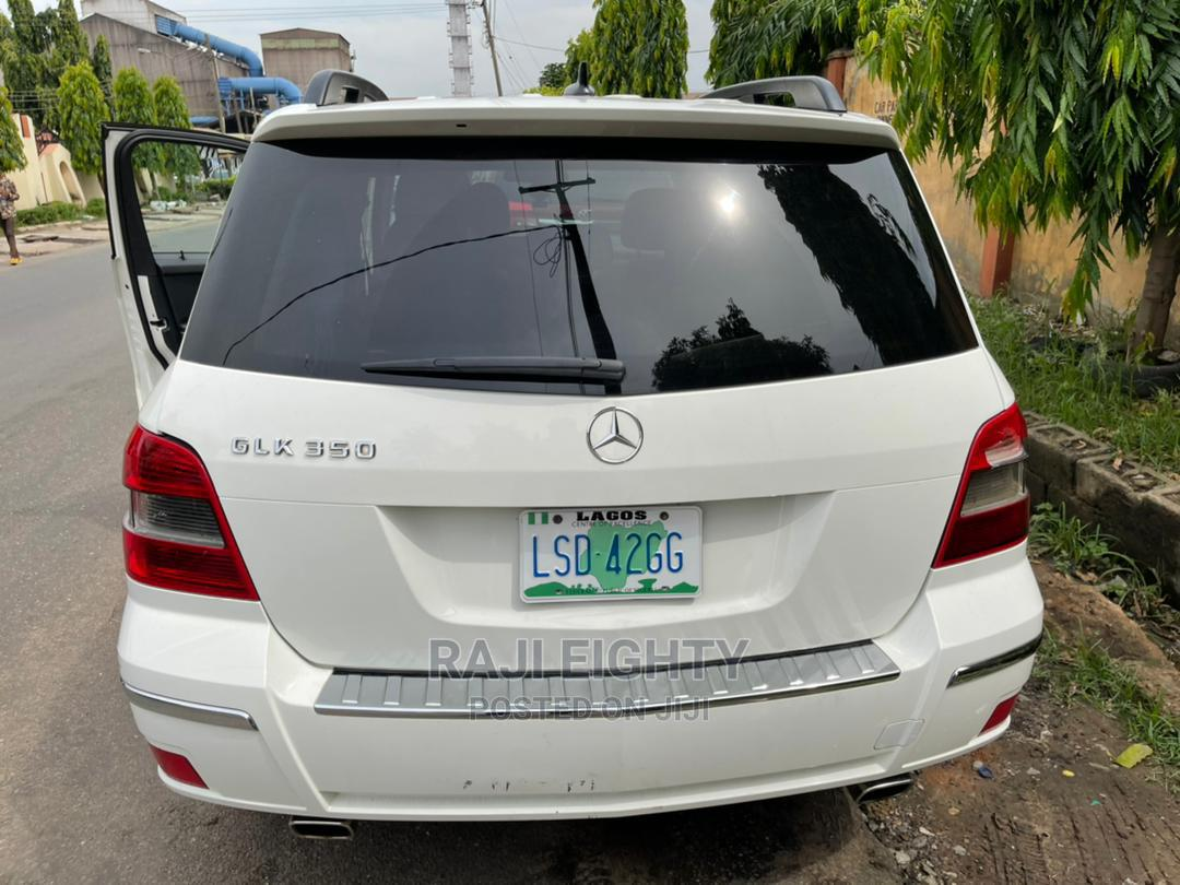 Archive: Mercedes-Benz GLK-Class 2012 350 4MATIC White