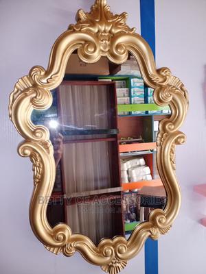 Design Quality Gold Mirror | Home Accessories for sale in Lagos State, Amuwo-Odofin