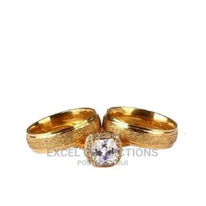 Romania Gold Wedding Ring Set | Wedding Wear & Accessories for sale in Lagos State, Surulere