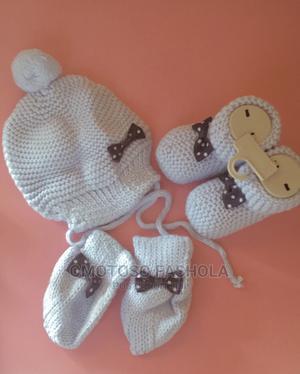 Baby Cap , Mitten and Socks | Children's Clothing for sale in Ekiti State, Ado Ekiti