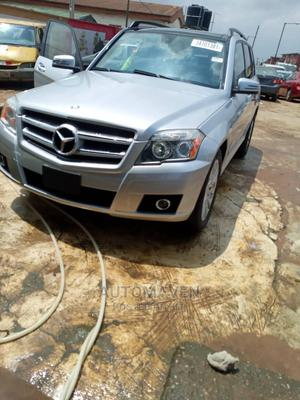 Mercedes-Benz GLK-Class 2012 350 Silver | Cars for sale in Lagos State, Isolo