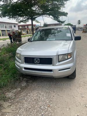 Honda Ridgeline 2008 RTX Silver | Cars for sale in Lagos State, Amuwo-Odofin