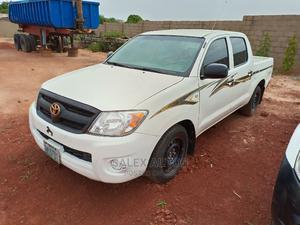 Toyota Hilux 2007 2.7 VVT-i 4x4 SRX White   Cars for sale in Kaduna State, Kaduna / Kaduna State