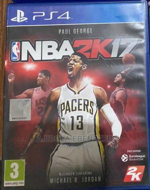 NBA Basketball Video Game For PS4 Console   Video Games for sale in Ekiti State, Ado Ekiti