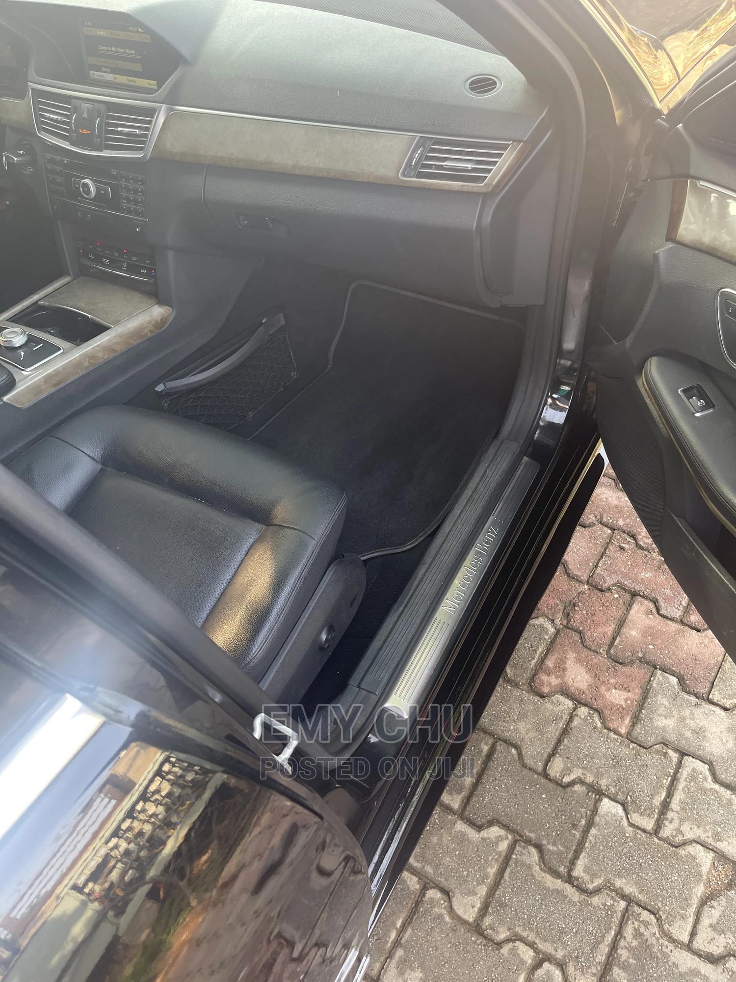 Archive: Mercedes-Benz E350 2013 Black
