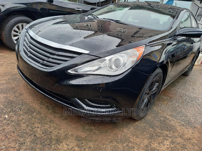 Hyundai Sonata 2013 Black | Cars for sale in Ikeja, Lagos State, Nigeria
