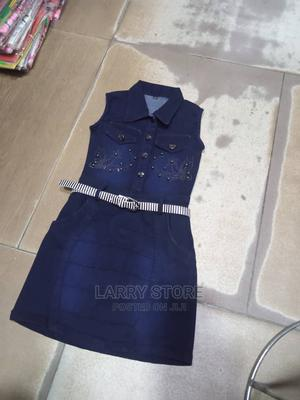 Jeans Gown for Girls | Children's Clothing for sale in Lagos State, Lagos Island (Eko)